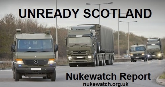 Review preparations for dealing with a nuclear convoy accident