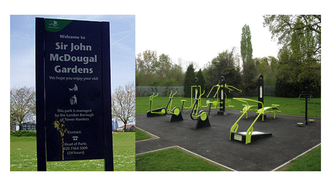 Campaign for Outdoor Gym in Sir John McDougal Park, Westferry Road, E14