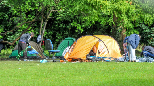 We demand a public meeting to discuss the plight of the homeless in Wrexham