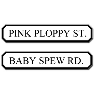 Let residents pick funny street names