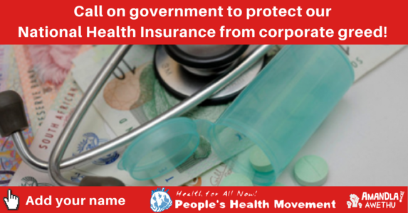Defending a People's National Health Insurance – quality health for all, not private profit