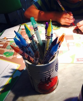 Pizza Express give up the plastic pencils!