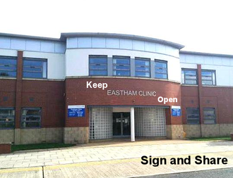 Keep Eastham Walk in Center open