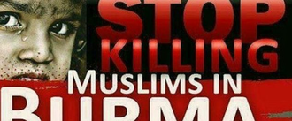 Stop the killing in Burma