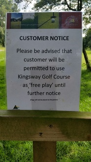 Keep Kingsway Golf Course open in Scunthorpe