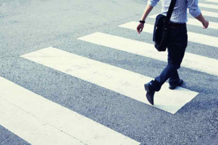 Zebra crossings for transit way