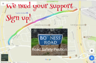 Make Boness Road Safe for our community