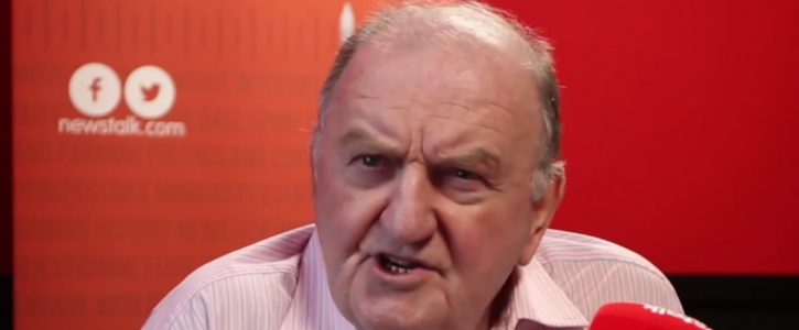 George Hook should be removed as a presenter on Newstalk