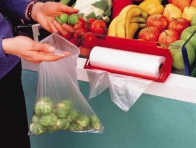 Ban small clear plastic bags used for fruit and veg