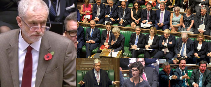 John Bercow. Stop MPs behaving like Children during Prime Minister's Questions.