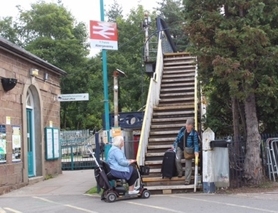 We need a bridge with pedestrian lifts at Abergavenny Station