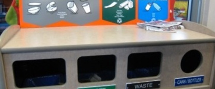 All McDonald's restaurants should have recycling bins