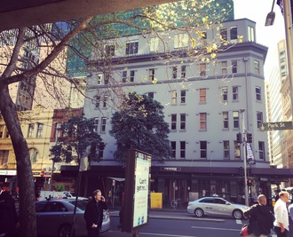 Save the facade, 185 Castlereagh St