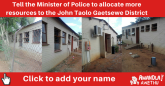 More Police Resources for Mothibistad