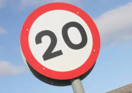 Introduce a 20mph Limit for Dury Falls Estate