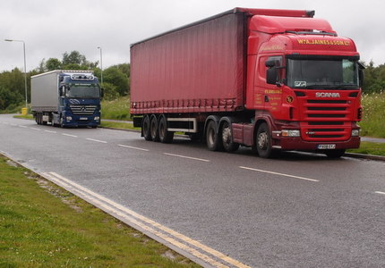 FREE NATIONAL PARKING FOR HGV DRIVERS