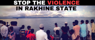 Stop the violence in rakhine state 720 x 300