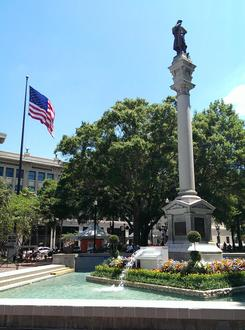 Take It Down Now: Confederate statue in Hemming Park