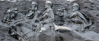 Take It Down Now: Stone Mountain Confederate Memorial Engraving