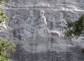 Take It Down Now: Stone Mountain Confederate Memorial Engraving!