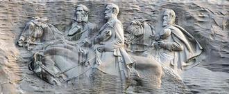 Take It Down Now: Stone Mountain confederate memorial carving