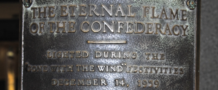 Take It Down Now: Eternal Flame of the Confederacy in Atlanta