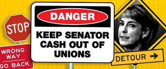 Keep Michaelia Cash out of our unions