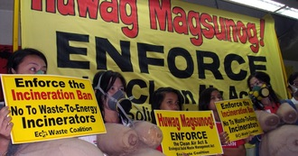 Uphold the Philippine Ban on Waste Incineration