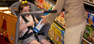 Special Needs Trolleys in Supermarkets