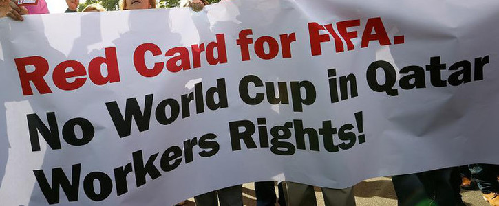 Better working conditions for the Qatar World Cup workers
