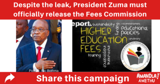 Release the Fees Commission report