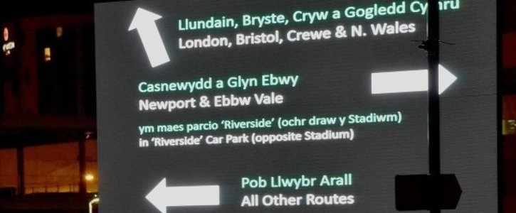 GWR should provide Welsh on their signage and in their announcements