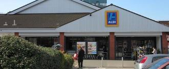 Improve access to the new Aldi store