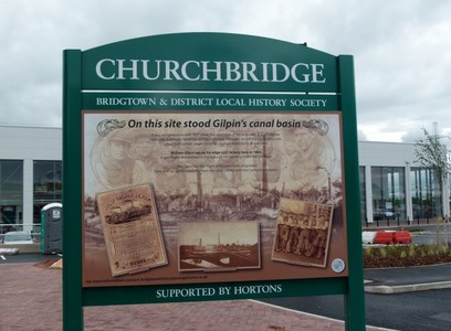 Heritage Trail for village of Bridgtown, Cannock, Staffordshire