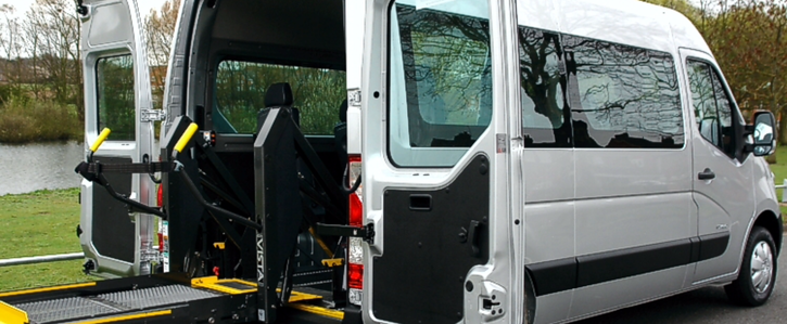 Allow wheelchair accessible vehicles into rubbish and recycling centres