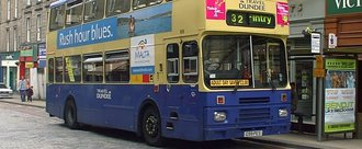 Save The current route of our Number 32/33 Fintry Bus Service