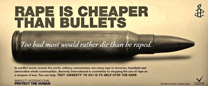 Rape as a weapon in war