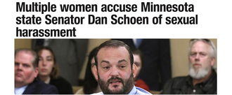 Demand for the Immediate Resignation of State Sen. Dan Schoen