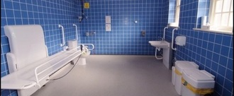 Install a changing place toilet in Gloucester