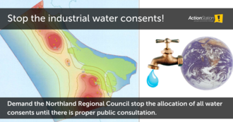 Stop the industrial water consents!