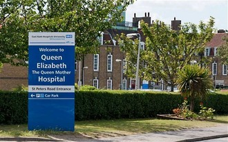 Save our A&E unit at Queen Elizabeth the Queen Mother Hospital, Margate.