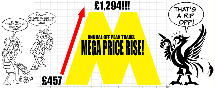 ‏Make Merseyrail Off-Peak annual travel affordable again