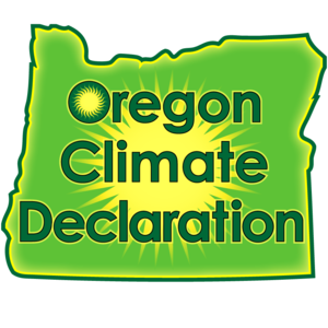 Oregon Climate Declaration