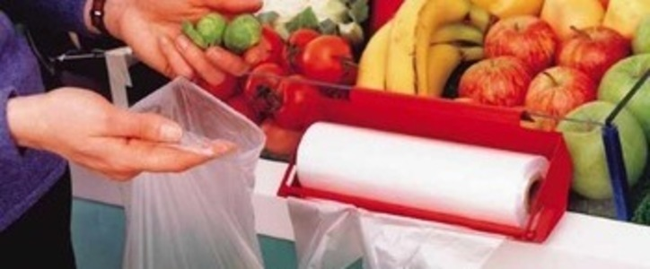 Please replace plastic fruit and veg bags with paper