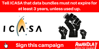 Help Icasa ensure data only expires after 3 years