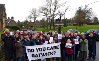 Stop New Flight Paths out of Gatwick Airport