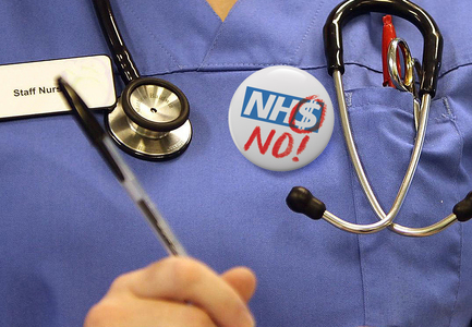 No Americanisation of our NHS.  Stop the ACOs. Full public scrutiny now.