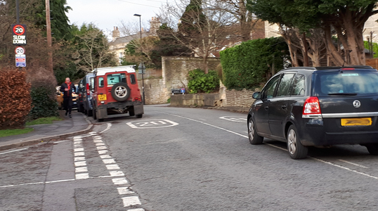 Traffic Calming on Gloucester Road, Lower Swainswick