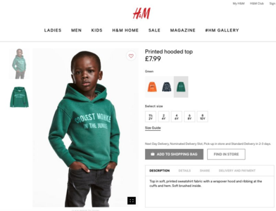 H&M - Hire Black Executives, Now.