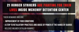 21 Hunger Strikers Demand Better Conditions at McHenry County Detention Center